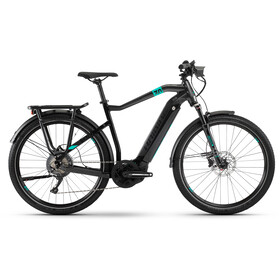 HAIBIKE SDURO Trekking 7.0 Hombre, black/turquoise/anthracite
